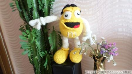 Вязаная игрушка ММДЭМС ручной работы на заказ