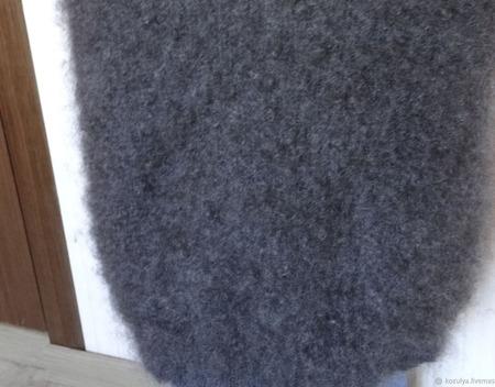 Безрукавка из козьего пуха ручной работы на заказ