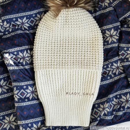 Шапка зимняя ручной работы на заказ