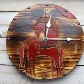 """Часы настенные """"Лошади"""""""