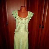 фото: Одежда (ажурное платье крючком)