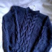 Стильный свитер оверсайз ручной вязки в Москве