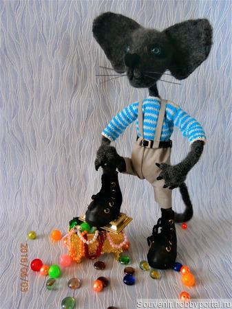 Кот породы ориентал ручной работы на заказ