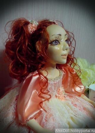 Авторская коллекционная кукла Лерочка ручной работы на заказ