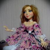Авторская коллекционная кукла Августа