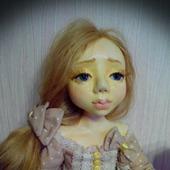 Авторская коллекционная  куколка Юленька