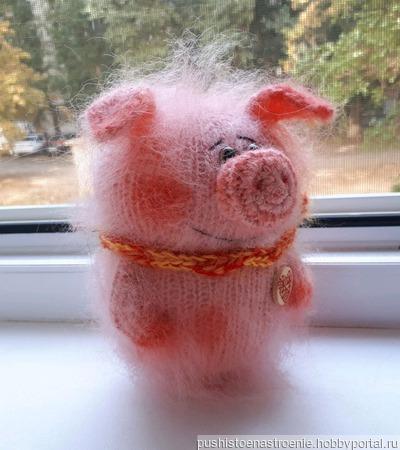 Свинка - Хрюшка ручной работы на заказ
