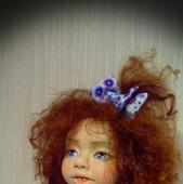 Авторская коллекционная кукла Варенька