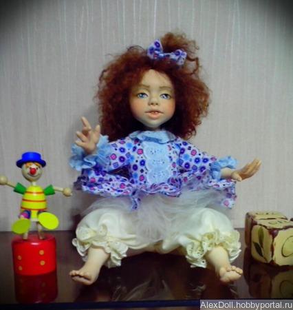 Авторская коллекционная кукла Варенька ручной работы на заказ