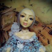 Авторская коллекционная кукла Николь