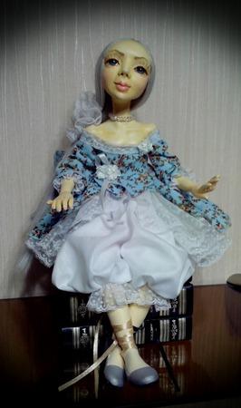 Авторская коллекционная кукла Николь ручной работы на заказ
