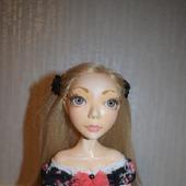 Коллекционная авторская кукла Сильвия