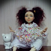 Авторская коллекционная кукла Ниночка