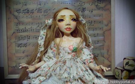 Авторская коллекционная кукла Мария ручной работы на заказ