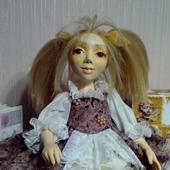 Коллекционная авторская кукла Анфиска