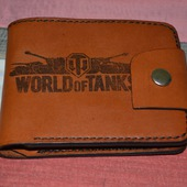 "Классический мужской кошелек ""WORLD of TANKS"""