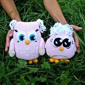 фото: Куклы и игрушки (вязаная сова)