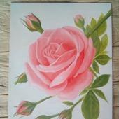 фото: Картины и панно (картина роза цветок подарок ветка)