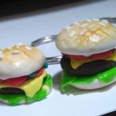 Брелочки гамбургеры