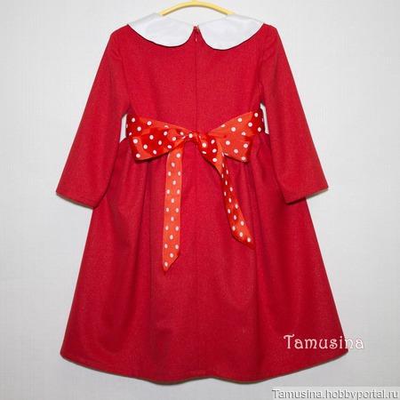 Нарядное платье для девочки ручной работы на заказ