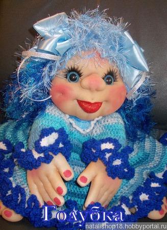Кукла Голубка ручной работы на заказ