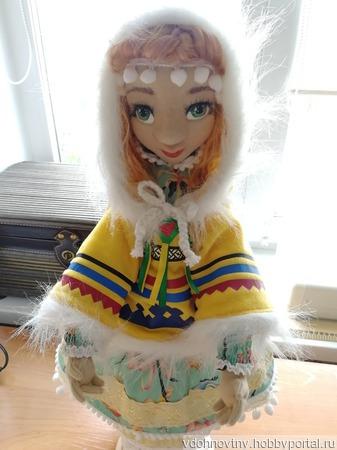 Куколка Эви - хантыйская северянка ручной работы на заказ