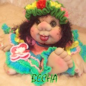 Кукла Весна