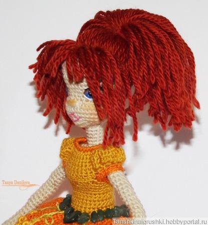 """Кукла """"Рыжуля"""" ручной работы на заказ"""
