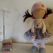 Текстильная куколка 25 см