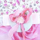 Новогодний сапожок для подарков для девочки