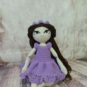 Кукла вязаная ручной работы