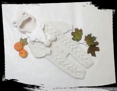 Комбинезоны детские вязаные ручной работы на заказ
