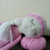 Кукла Соня вязаная ручной работы