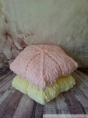 Подушка вязаная ручной работы ручной работы на заказ
