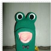 Логопедическая игрушка Мистер-лягушка - болтушка