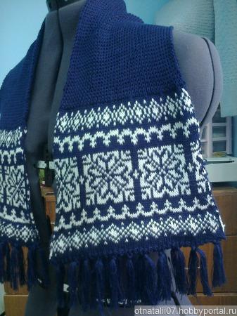 Шарфы и шарфики ручной работы на заказ