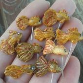 Золотая рыбка для ватных игрушек