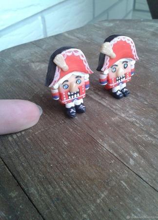 Щелкунчик для ватных игрушек ручной работы на заказ
