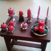 Аксессуары для кукол Свечи для кукольной миниатюры