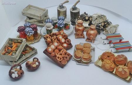 Аксессуары для кукол - Санки для  кукольной миниатюры ручной работы на заказ