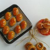 Еда для кукол - Пирожки от бабушки для кукольной миниатюры