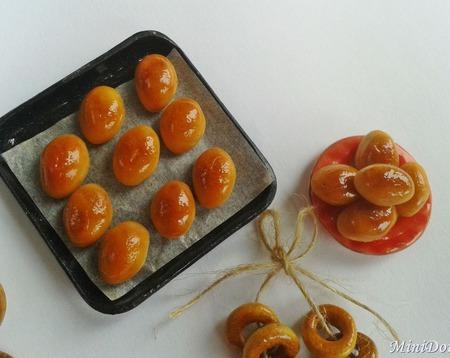 Еда для кукол - Пирожки от бабушки для кукольной миниатюры ручной работы на заказ