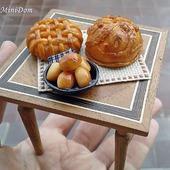 Еда для кукол - Русские пироги для кукольной миниатюры