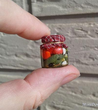 Кукольная еда - заготовки для кукольного домика ручной работы на заказ