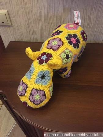 Интерьерные игрушки в технике Африканский цветок ручной работы на заказ