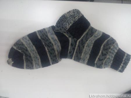 Носки шерстянные ручной работы на заказ
