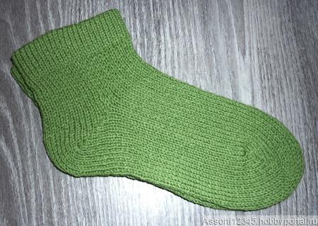 Носки короткие ручной работы на заказ