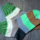 Носочки полосатые