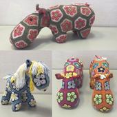 Интерьерные игрушки в технике Африканский цветок