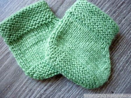 Пинетки-носочки ручной работы на заказ